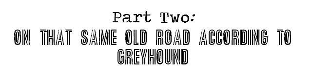 same ol road