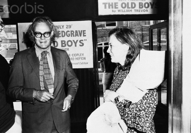 Robert Lowell and Lady Caroline Guinness
