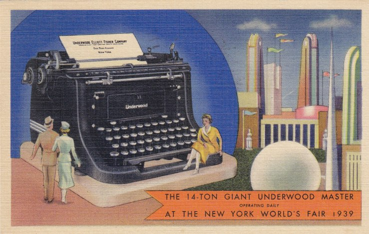 14-Ton-Giant-Underwood-typewriter