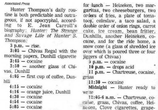 hunters-routine