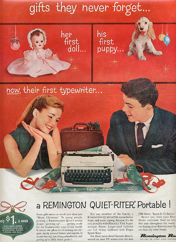 New typing machines #8 (Remington Quiet-Riter) – Adventures
